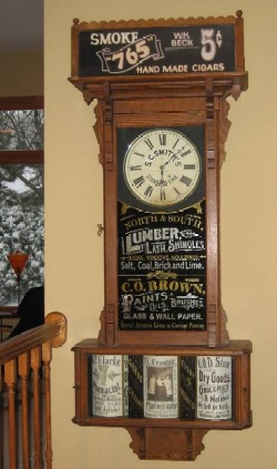 Sidney Advertising Clock.