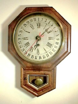 Welch - Wall - 'No 1 Drop Octagon Calendar'.