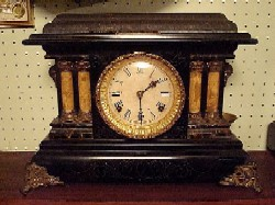 Trade Stimulator mantle clock.