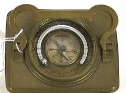 FRENCH CARRIAGE CLOCK PLUS, Top view.